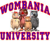 Wombania University Red & Blue