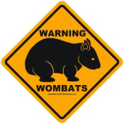 Warning Wombats