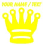Custom Yellow Chess Queen