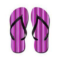 Strip Flip Flops