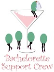 Bachelorette Support Crew (pink)