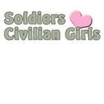 Soldiers love civilian girls