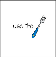 use the fork