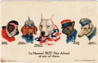 Patriotic Dogs WW1