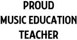 MUSIC EDUCATION teacher