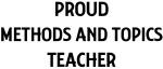 METHODS AND TOPICS teacher