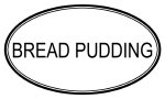 BREAD PUDDING (oval)
