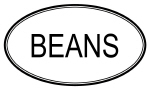 BEANS (oval)