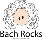 Bach t shirts and gifts Bach Rocks