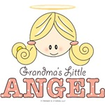 New Grandchild Gift Girl Grandma's Little Angel
