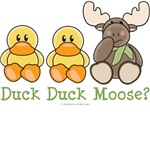 Cute Funny Duck Duck Moose T-shirt Onesie Gifts