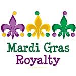 Mardi Gras Fleur de Lis T-shirt Gifts