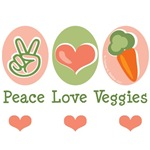 Cute Veggie Vegetarian Vegan Tees Gifts