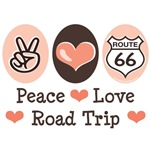 Road Trip Route 66 Traveler T-shirt Gift
