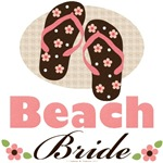 Beach Bride Theme Wedding T-shirt Gifts