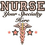 Nurse Specialty T shirts Caduceus Gifts