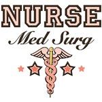Med Surg Nurse Caduceus T shirt Gift