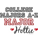 A-Z College Major Hottie T shirt Gifts