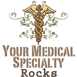 Doctor Medical Specialty A-Z Rocks T-shirt Gifts