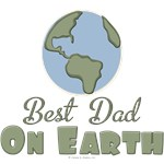 Best Dad On Earth T-shirt Tees Gifts