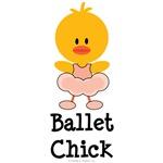 Ballet Chick T shirt Tees Ballerina Gifts