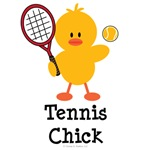 Tennis Chick T shirt Tees and Gifts
