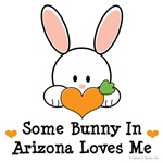 Some Bunny In Arizona Loves Me T-shirts Gifts