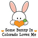 Some Bunny In Colorado Loves Me T-shirt Gifts