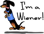 I'm a Wiener Winner! Black & Tan