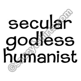 Secular Godless Humanist T-shirts