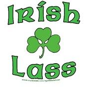 Irish Lass - Shamrock Design