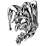 Scary Clown Face (27)
