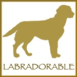 Labradorable (yellow lab)