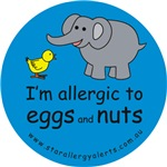 I'm allergic to eggs and nuts-blue