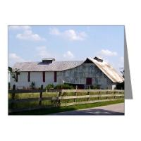 BARN NOTE CARDS
