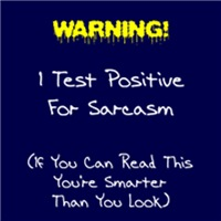 Test For Sarcasm