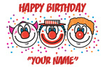 Clown Birthday Names