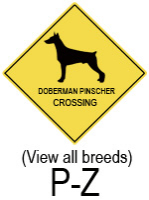 Dog Breed Crossing (P-Z)