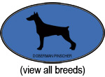 Blue Oval Dog Breeds