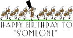 Marching Ants Birthday