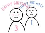 Stick Figure Birthdays