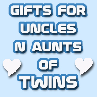 Gifts for UNCLEs and AUNTs of TWINS