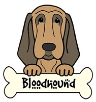 Bloodhound Cartoon T-Shirts and Gifts