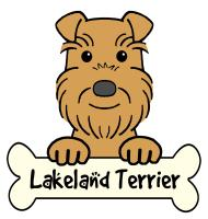 Lakeland Terrier Cartoon T-Shirts and Gifts