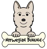 Norwegian Buhund Cartoon T-Shirts and Gifts