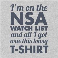 NSA Watch List
