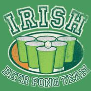 Irish Beer Pong Team