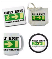 Other items with Cult Exit sign