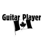 Guitar Player (Canada Flag)