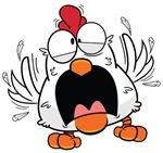 Cartoon White Chicken